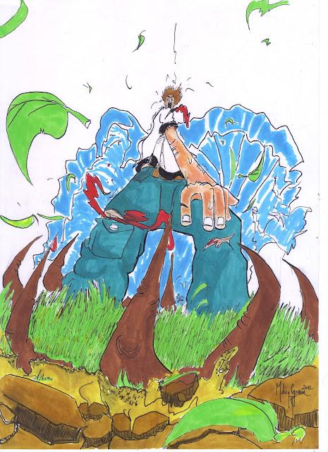 Concours de dessin la revanche de la nature manga sans - Dessin de nature ...