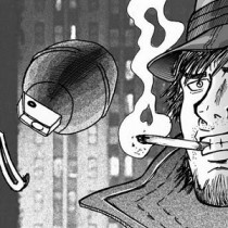 Retro gangster manga gratuit amateur one shot