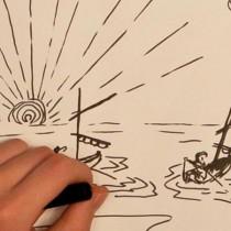 bande dessinée animation vidéo stop motion inspiration