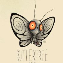 butterfree pokemon tim burton