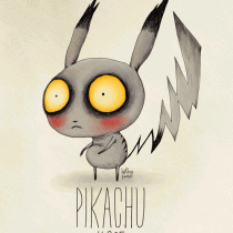 pikachu pokemon tim burton