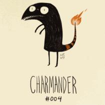 pokemon tim burton charmander