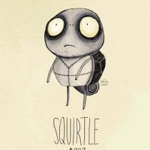 squirtle pokemon tim burton