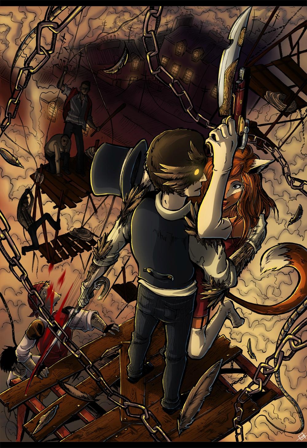 illustration dessin manga comment colorier photoshop couleur
